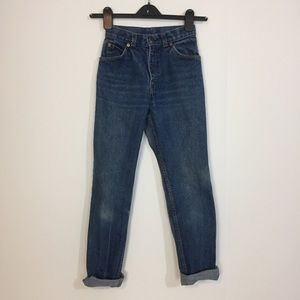 VINTAGE LEVI STRAUSS JUNIOR SIZE 7 JR RELAXED FIT